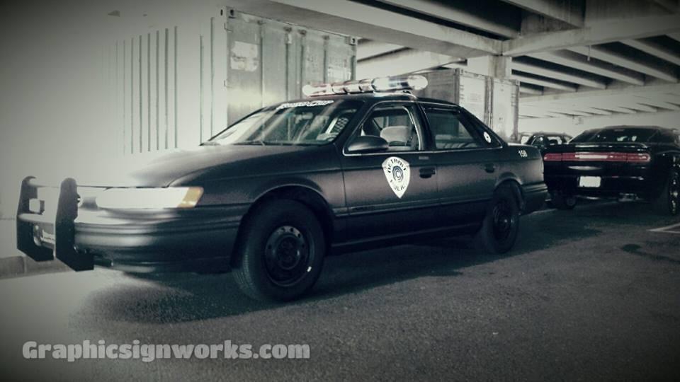 robocop police car